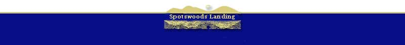 Spotswoods Landing Logo and footer